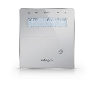 Satel INT-KWRL-SSW bezprzewodowy manipulator LCD jasny