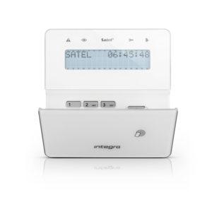 Satel INT-KWRL2_WSW bezprzewodowy manipulator LCD biały