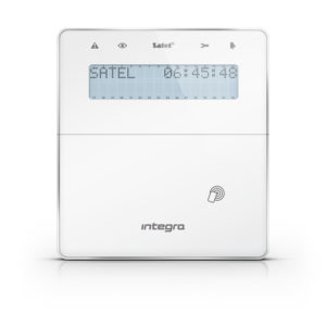 Satel INT-KLFR-WSW manipulator systemu alarmowego Integra biały
