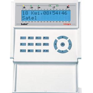 Satel INT-KLCD-BL manipulator LCD niebieskie poświetlenie