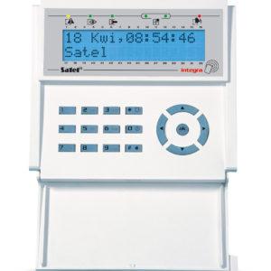 Satel INT-KLCDR-BL manipulator LCD z czytnikiem kart zbliżeniowych